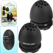 SoundLogic iCapsule Speakers - Rechargeable USB