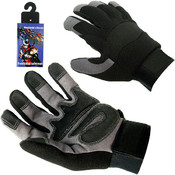 High Performance Spandex Mechanic Glove with Velcr