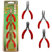 Professional 4 Piece Micro Plier Set