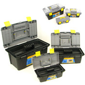 3 Piece Durable Tool Box Set - 3 for the price of