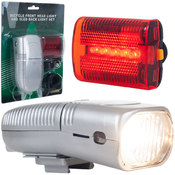Bicycle Headlight and Taillight Set - Bicycle