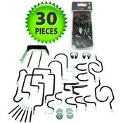 30 piece Hang it Yourself Home Organization Hook S