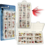 Silverlake Freshwater Flies - 55 pack