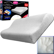As Seen on TV - Comfort Memory Pillow - Cloud Soft