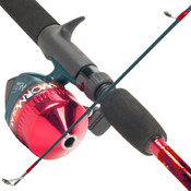 Worm Gear Fishing Rod &amp;amp; Spin Cast Reel Combo