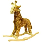 HAPPY TRAILST Giraffe Plush Rocking Animal