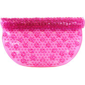 Pink Aqua Gel Bubbled Bath Mat As Seen on TV 16 x