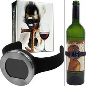 Wine Bottle Thermometer w/Digital Display Wholesale Bulk