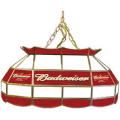 Budweiser 28 inch Stained Glass Pool Table Light L