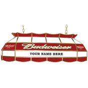 Customized Budweiser 40 inch Stained Glass Pool Ta