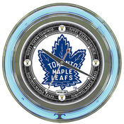 NHL Vintage Toronto Maple Leafs Neon Clock - 14 in