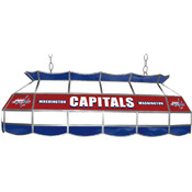 NHL Washington Capitals Stained Glass 40 inch Ligh