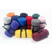 Black Nylon Carry Strap for Fleece Blankets