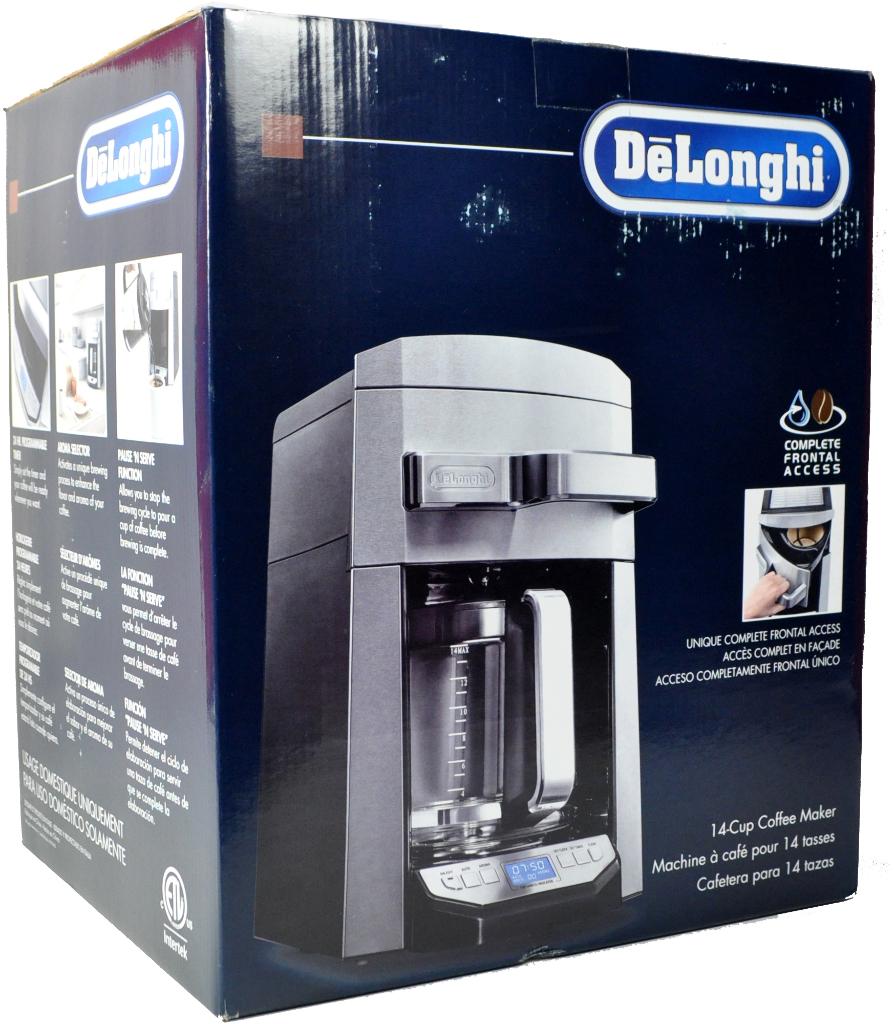 DeLonghi 14 Cup Programmable Drip Coffee Maker - December 2015