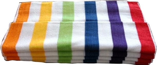 ''Multi Stripe BEACH TOWEL - 30'''' x 60'''' [1174665]''