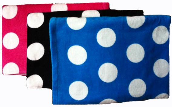 ''Polka Dot BEACH TOWEL - 30'''' x 60'''' [1041088]''