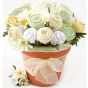 Nikki's Baby Blossom Clothing Bouquet Gift-Neutral