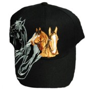 Men & Women's Horse Design Baseball Hat