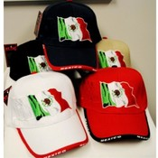 Adjustable Baseball Hats Caps Mexican Flag