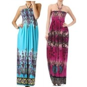Womens Long Summer Dress Assortment