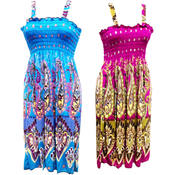 Summer Dresses - Assorted Bright Colors and Sizes