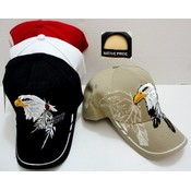 Adjustable Native Pride Eagle Hats - Assorted Colo