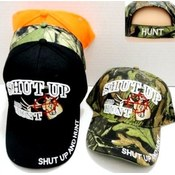 Shut Up and Hunt Baseball Cap