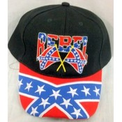 Wholesale Rebal With Flag Baseball Cap/ Hat