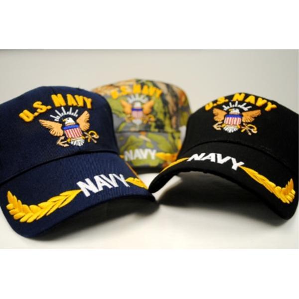 Wholesale Adjustable Baseball Hats Caps US NAVY (SKU ...