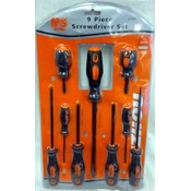 Wholesale 9 pcs Hardware/ Tool Screwdriver set