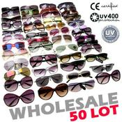 50 Mixed Lot Glasses Sunglasses Wholesale Bulk
