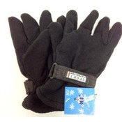 Wholesale Black Fleece Gloves Man Size