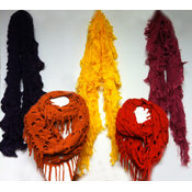 Marc Gold assorted knit scarves
