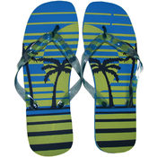 Marc Gold Ladies Flip Flop Palm Tree Print - SM