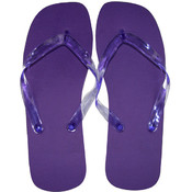 Marc Gold Ladies Flip Flop Bright Purple - XL