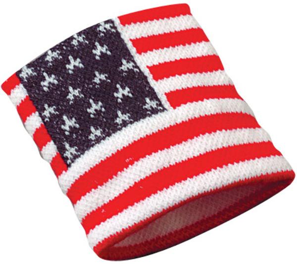 American Flag WRIST BANDs (1903612)