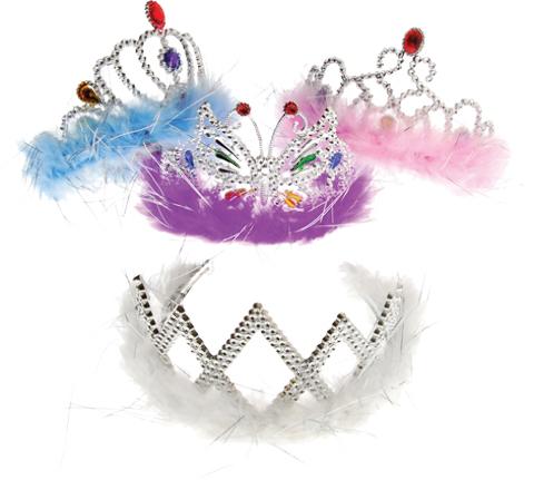 Feather Boa Princess TIARAs [1904365]