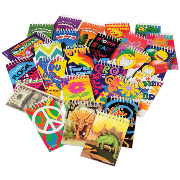 15 Page Small NOTEBOOK Assortment [2285400]