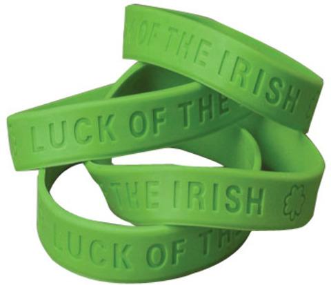 St. Patrick's Day Rubber BAND BRACELET [1905299]