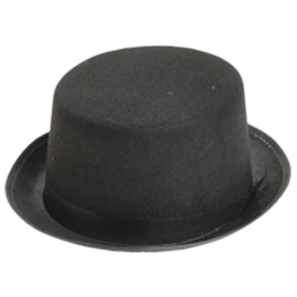 Black Felt Top hat- Adult [1776822]