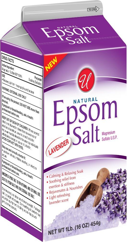 Wholesale Natural Epsom Salt - 1lb. - Lavender (SKU ...