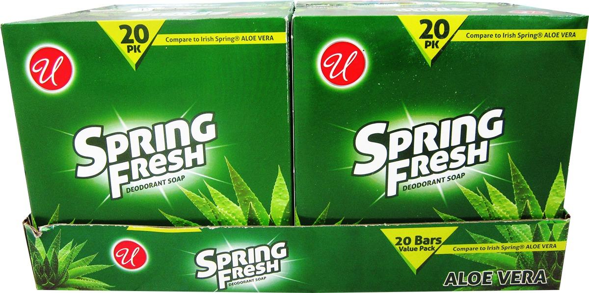 Wholesale Spring Fresh Deodorant Soap - Aloe vera (SKU ...