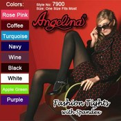 Angelina Fashion Tights (Panty Hose) with Spandex