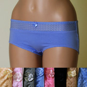 Angelina Brand Ladies Boyshort Underwear