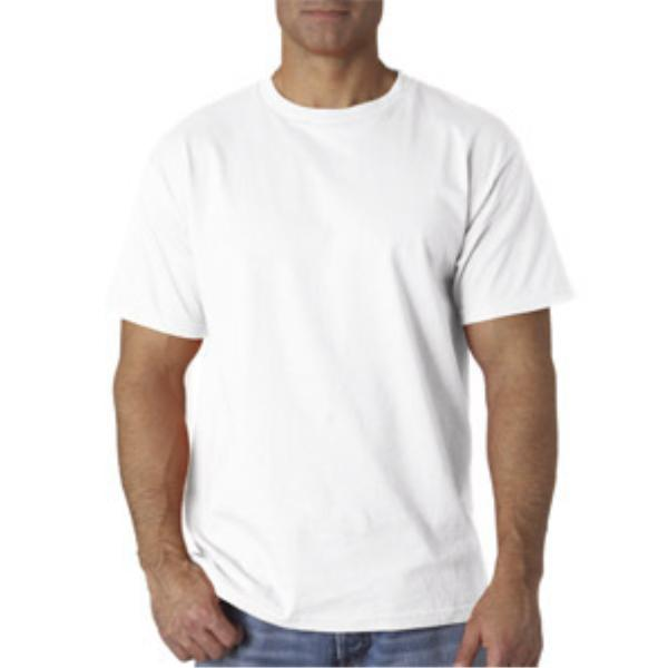 Fruit of the Loom Men's White T-Shirt CLOTHING - Large [1923948]