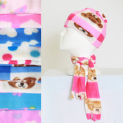 Maria Rosa Beanie and Scarf Set