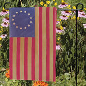 USA Made - Heritage Cotton 13-Star Garden Flag
