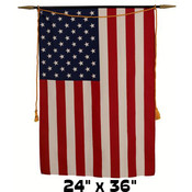 Valprin 24&quot;x36&quot; Polyester U.S. Classroom Banner