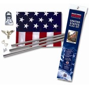 U.S. Flag Kit with Steel Pole