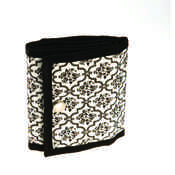 Jewelry Roll Classic Black Lace
